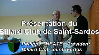 Présentation Billard Club Saint-Sardos