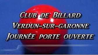 Journée porte ouverte Club de #Billard @Verdun-sur-Garonne @tvlocale_fr